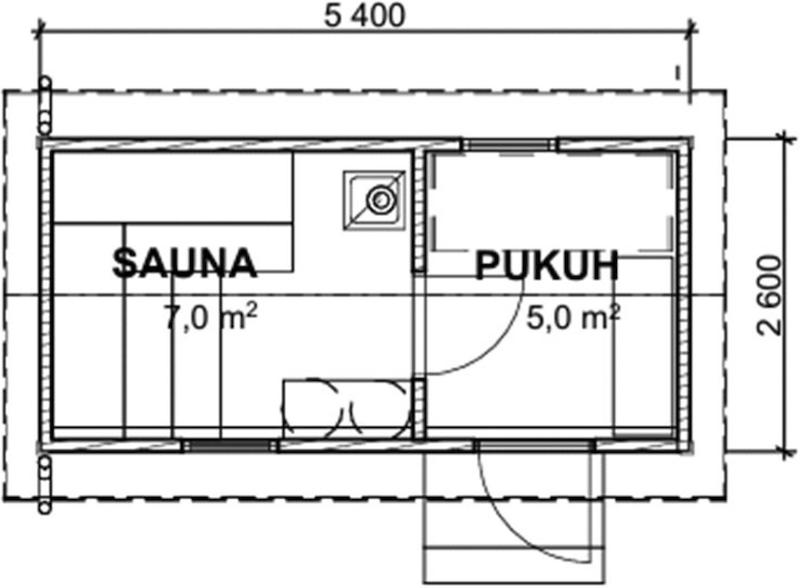 saunamoduuli-kontu